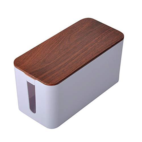 Estantes De Almacenamiento Caja Organizador De Gestión De Cables, Para Ocultar En El Suelo O Debajo De La Mesa, Y Mantenga Pulsado El Zócalo Múltiple, El Enrutador, El Concentrador USB,A