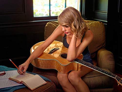 Puzzle de Europa y América estrella Taylor Swift-Adultos 1000 pedazos, rompecabezas de madera, piso de puzzles, educativos inteligentes descompresión diversión de la familia de juegos, juguetes y rega