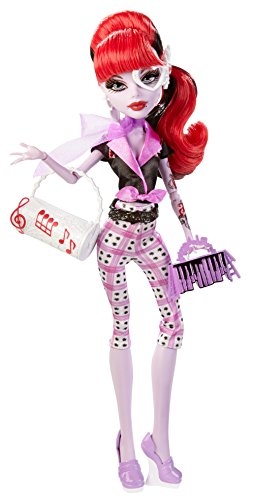 Monster High Monster Scaritage Operetta Doll with Accessories