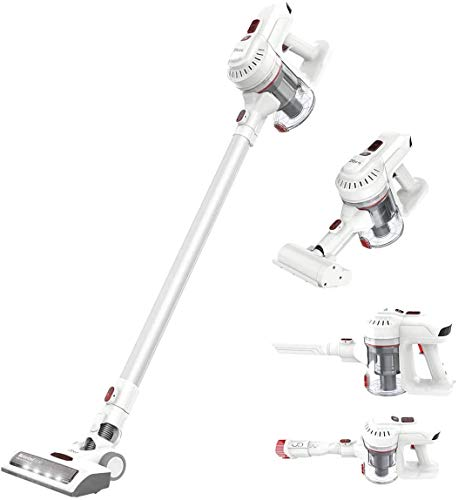 Dibea E19 Lightweight Cordless Vacuum Cleaner 12KPa Powerful Suction 2 in 1 Bagless Rechargeable...
