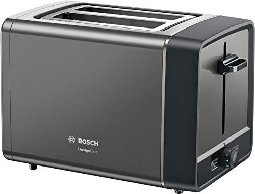 Bosch Hausgeräte DesignLine Tostadora compacta, antracita