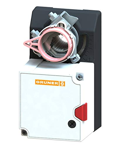 GRUNER 227-024-05 Stellmotor 24V 2-/3 Punkt Klappenantrieb 5Nm