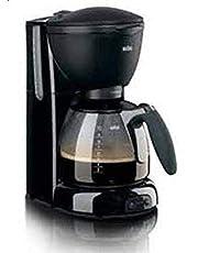 ماكينة تحضير القهوة كافيه هاوس بيور اروما من براون KF 560، 1100 وات - اسود