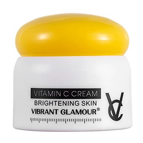 Montloxs GLAMOUR VIBRANTE 50g Crema de vitamina C para blanquear la piel, eliminar las pecas, las manchas oscuras inhiben la pigmentación