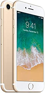 Apple iPhone 7 32GB Unlocked GSM Quad-Core Phone w/ 12MP Camera - Gold (Renewed)