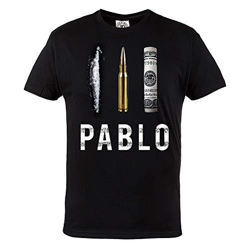 Mafia Hardcore ROPA camiseta PABLO escobar. El PATRULLA DEL MAL. Rule out . FAN. Ropa Casual