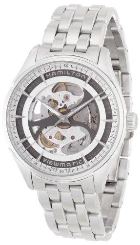 Hamilton Jazzmaster Viewmatic H42555151 Reloj Automático para hombres Esfera Esqueleto