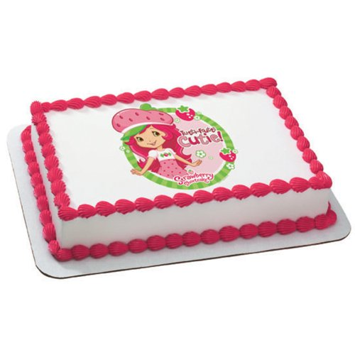Strawberry Shortcake - Tutti Fruitti Edible Image Cake Topper Party Accessory by A...