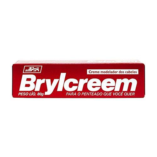 Brylcreem Creme Modelador, Granado, Vermelho, 80g