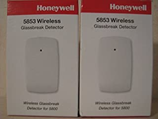 Honeywell 5853 Wireless Glass Break Detector (2 pack)