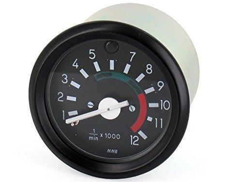 MMB Drehzahlmesser mit Fernlichtkontrolle bis 12000U/min