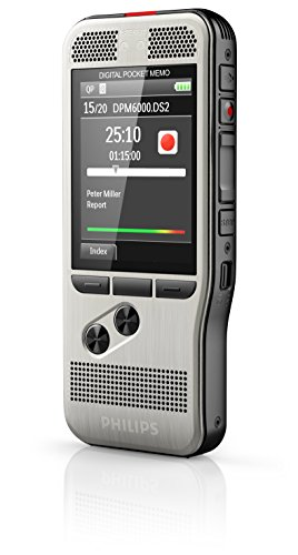 Philips DPM6000 Digital Pocket Memo Voice Recorder with Push Button Operation Photo #5