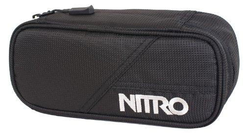 Nitro Snowboards Unisex Federmäppchen Pencil Case Federm ppchen, Schwarz, 20 x 8 6 cm 0.96 Liter EU