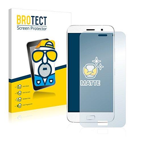 BROTECT 2X Entspiegelungs-Schutzfolie kompatibel mit ZUK Z1 Bildschirmschutz-Folie Matt, Anti-Reflex, Anti-Fingerprint