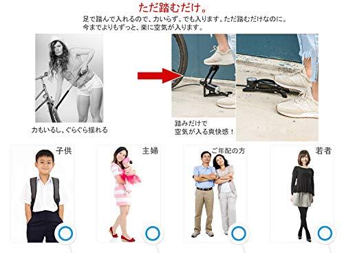 RAKUKATSU『足踏み空気入れ』
