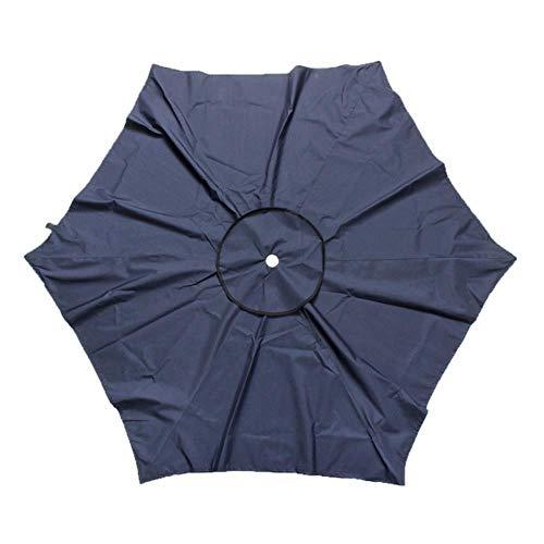 Viner Garden Parasol Canopy Cover Waterproof Canopy Parasol Sun Shelter Cover Parasol Top Garden Outdoor vervangende stof, blauw