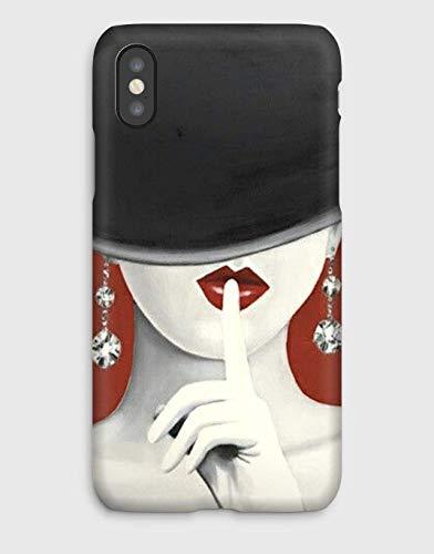 Miss Canel iPhone case 11, 11 Pro, 11 Pro Max, XS, XS MAX,XR,X, 8, 8+, 7, 7+, 6S, 6, 6S+, 6+, 5C, 5, 5S, 5SE, 4S, 4,