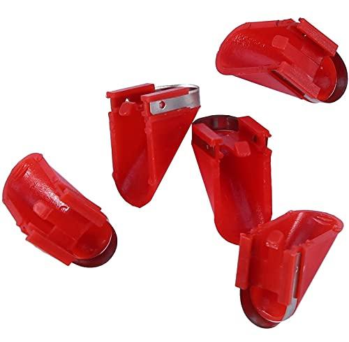 wjmss 5pcs Pelador eléctrico Cuchillas de reemplazo Papa Vegetal Fruit Peeler Blade...