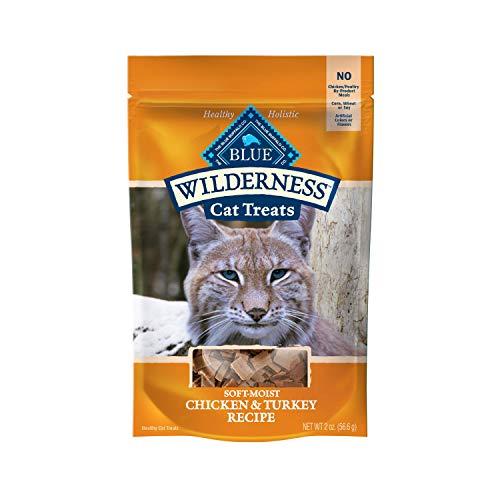 Blue Buffalo Wilderness Chicken & Turkey Grain Free Cat Treats, 2-oz bag