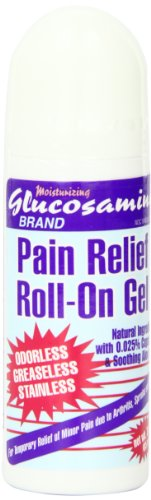Moisturizing Glucosamine Pain Relief Roll-on Gel