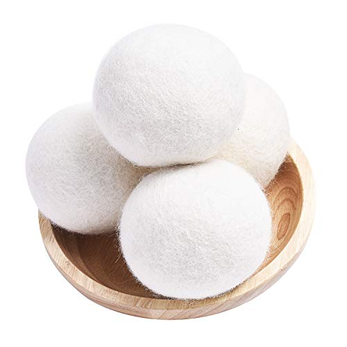 Reusable and Natural Wool Dryer Balls Organic XL (pack of 2)
