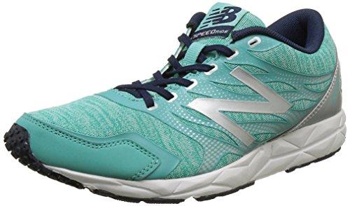 New Balance 590, Zapatillas de Running, Mujer, Multicolor (Green/Silver 316), 40.5 EU