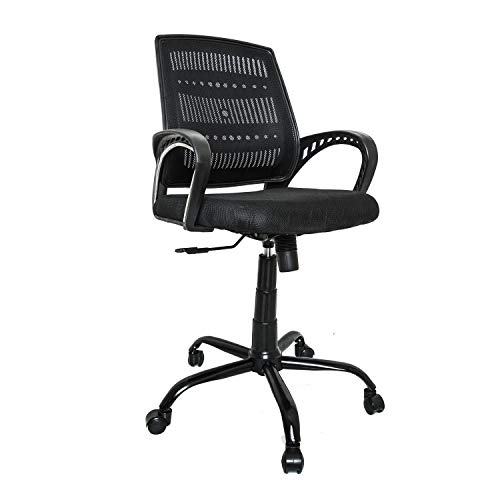 CELLBELL® C106 Medium Back Mesh Office Chair[Black]