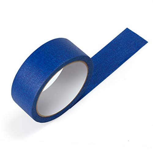 Blue Masking Tape, 16 Roll Multi Purpose Painter Tapes, 1.4 Inch/36 mm Wide,Medium Adhesive Masking Tape with No Residue Behind, 10 Yard/Roll Photo #5