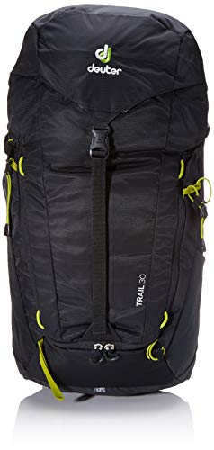 Deuter Unisex-Adult Trail 30 Rucksack, Black-Graphite, 62 x 32 x 20 cm, 30 L
