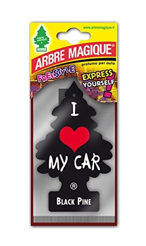 Arbre Magique 1228711 Parfum à suspendre, noir/rouge/blanc