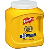 French s Classic Yellow Mustard, 105 oz - One 105 Ounce Bulk Container of Tangy and Creamy Yellow Mustard Perfect for Professional Use or for Refillable Containers at Home