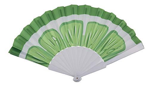 Fitsch Online UG Fächer LEMON Handfächer Taschenfächer Windfächer Luftfächer 14 Sticks Stoff