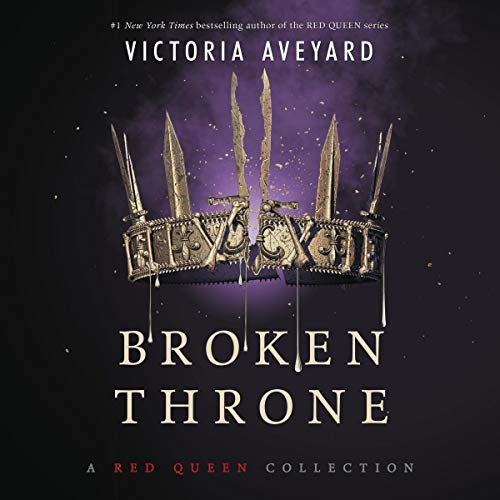 Broken Throne     A Red Queen Collection              Auteur(s):                                                                                                                                 Victoria Aveyard                               Narrateur(s):                                                                                                                                 Amanda Dolan,                                                                                        Vikas Adam,                                                                                        Charlie Thurston,                   Autres                 Durée: 14 h et 10 min     1 évaluation     Au global 5,0