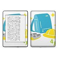 igsticker kindle paperwhite 第4世代 専用スキンシール キンドル ペーパーホワイト タブレット 電子書籍 裏表2枚セット カバー 保護 フィルム ステッカー 015259 ランドセル 入学式 4月