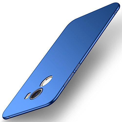 SPAK Xiaomi Mi Mix 2 Hülle,Neuer Qualitäts Schutzhülle Harter PC rückseitiger Abdeckungs Handyhülle Fall Cover für Xiaomi Mi Mix 2 (QB-Blau)