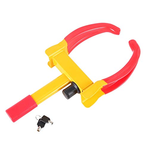 YANGH - Cepo universal para rueda de coche, moto, 47 x 22 x 8 cm, color rojo