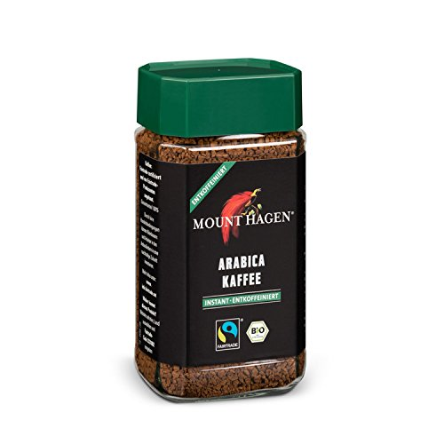Mount Hagen Bio Arabica-Kaffee instant, entkoffeiniert, 100 g - Mount Hagen