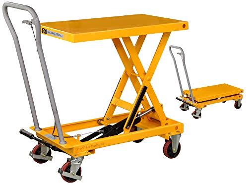 Pro-Lift-Werkzeuge Hubtisch-Wagen 250 kg Hebebühne 910 mm Hubhöhe fahrbarer Scherenwagenheber mobiler Plattformwagen