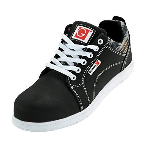 K&G Arbeitsschuhe GALMAG 502 S3 SRC Sneaker Sicherheitsschuhe mit Kunststoffkappe Schuhe Herren Gartenschuhe Herrenschuhe (43 EU)