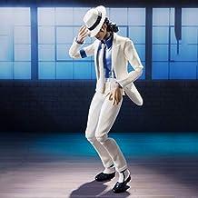 Color : D Figurine /à T/ête Branlante POP Michael Jackson D/écoration de voiture Billie Jean militaire