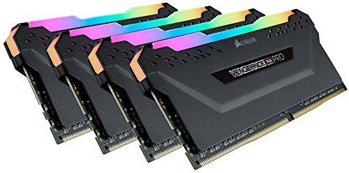 Corsair Vengeance RGB Pro Black DDR4-RAM 3600 MHz 4X 8GB mó