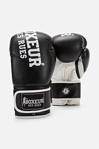 BOXEUR DES RUES Bxt-5127 Guantes de Cuero sintético, Unisex Adulto