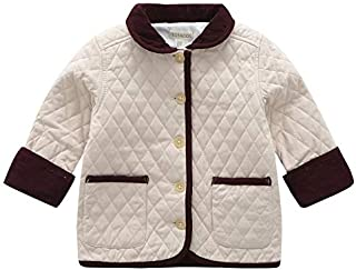BOSBOOS Baby Boy Warm Coat Jacket Winter Indoor Outerwear with Pocket for Children