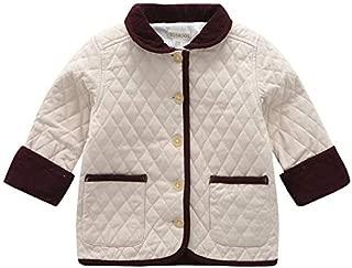 BOSBOOS Baby Boy Warm Coat Jacket Winter Indoor Outerwear with Pocket for Children