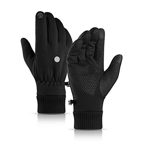 ZN-Home-Gloves Écran Tactile des Gants, l'hiver Hommes Poids léger Antidérapant Étanche Tissu en Cours d'exécution Les Sports Gant Très Convenable Cyclisme Alpinisme Randonnée Voyage