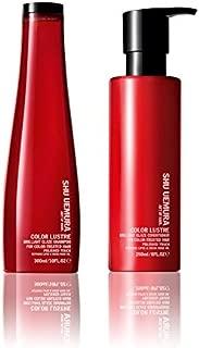 Shu Uemura Color Lustre Shampoo 10 Ounce and Conditioner 8 Ounce Set