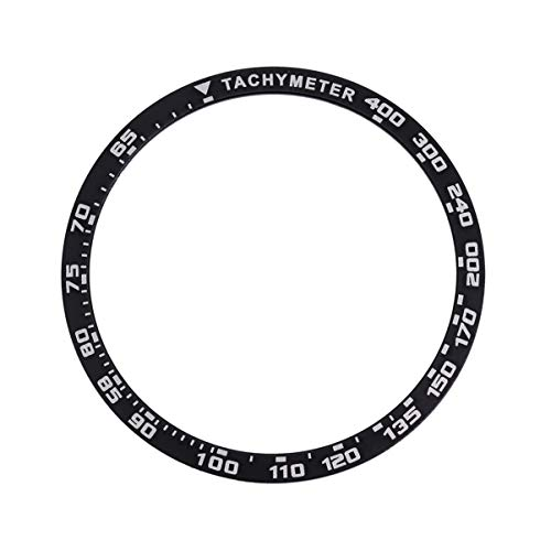 NICERIO Kompatibel für Samsung Galaxy Uhr Lünette Ring Kleber Abdeckung Anti-Kratzer Metallschutz Uhr Lünette Styling 42Mm
