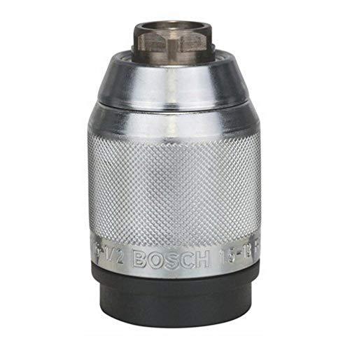 Bosch 2 608 572 150 - Portabrocas de sujeción rápida cromado mate - 1,5 – 13 mm, 1/2' - 20 (pack de 1)