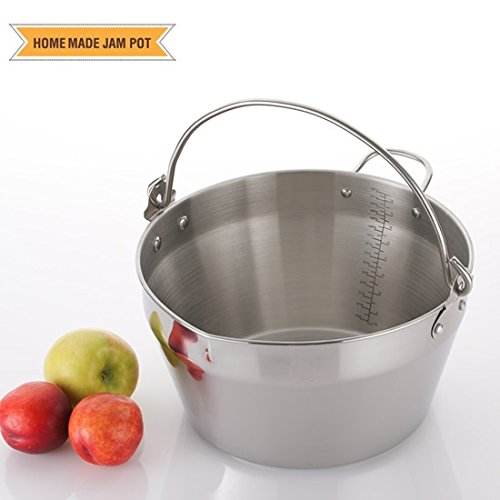 cheap Stainless jam pot, canned pot, camping frying pan (9L-9QT)