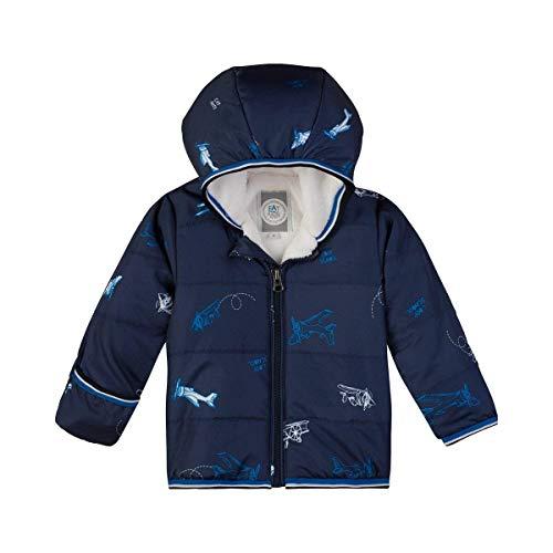 Sanetta Baby-Jungen Outdoorjacket Jacke, Blau (Evening Blue 5683.0), 62